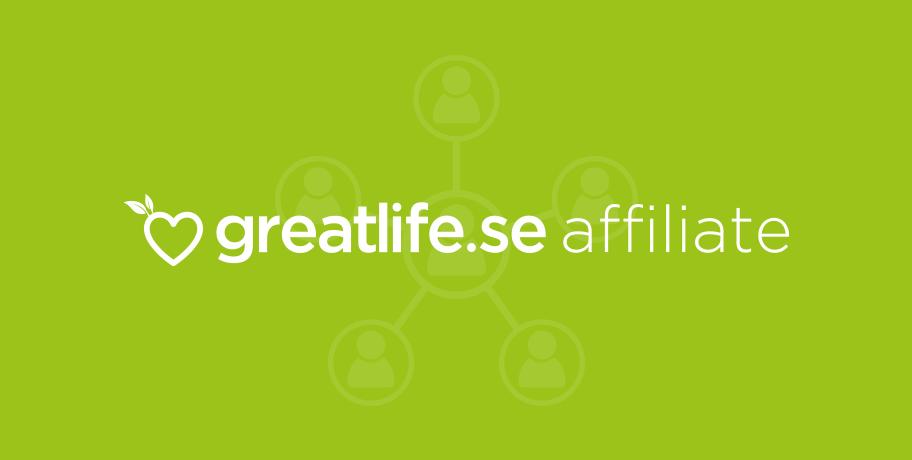 Greatlife.se Affiliateprogram